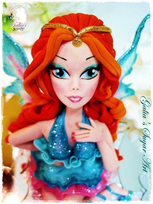WINX...Bloom - by GuGi @ CakesDecor.com - cake decorating website