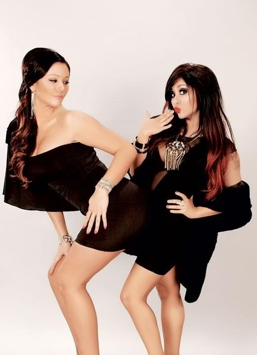 Snooki and JWOWW Get Sexy, grind for me