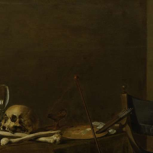 Vanitas Still Life with the Spinario, Pieter Claesz., 1628 - stilllife-Collected Works of Teresa Hunyadi - All Rijksstudio's - Rijksstudio - Rijksmuseum