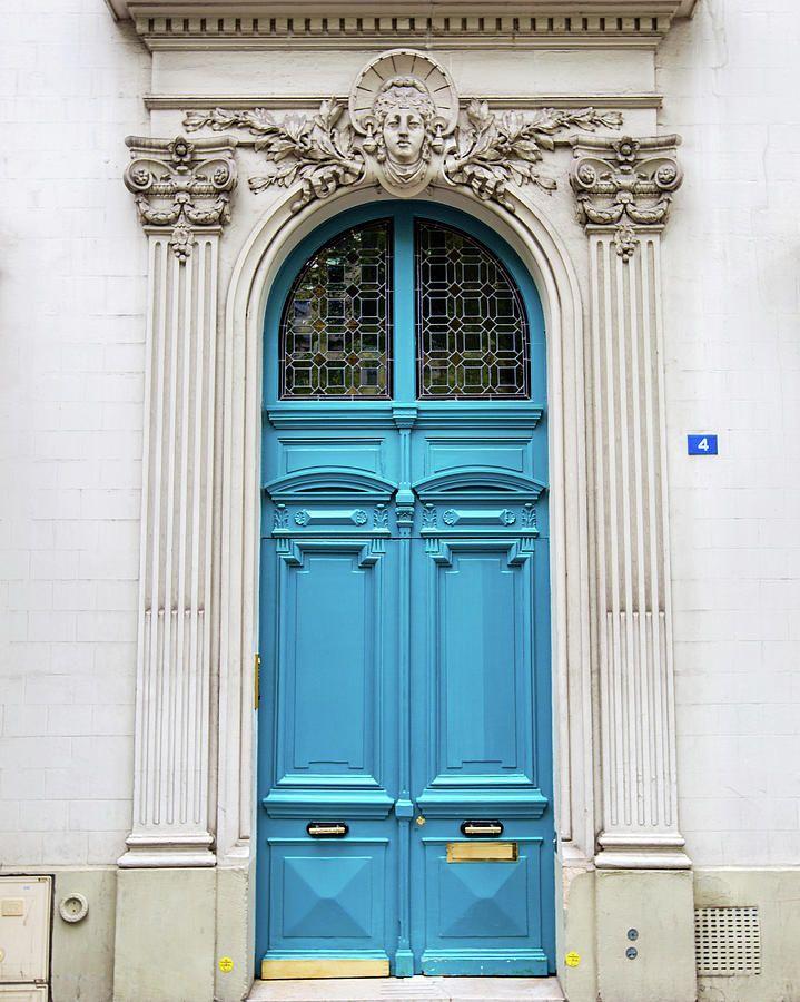 Doors No 4 Paris France Paris Door Gorgeous Doors European Doors