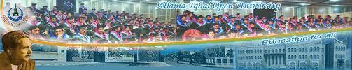 Allama Iqbal Open University admission in MSc, MS-MPhil and PhD programs