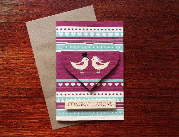 Congratulations Wedding/Engagement Greeting by TellThemStories