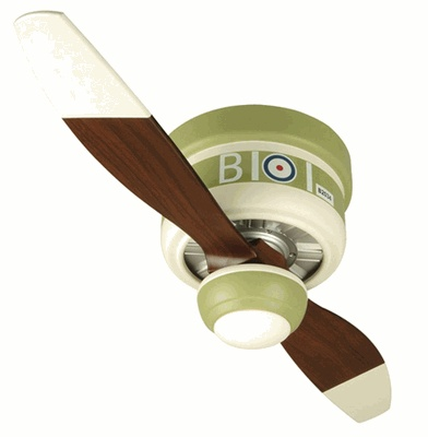 Perfect for my little airplane lover who happens to be obsessed with ceiling fans