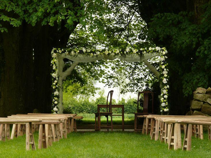 arche fleurie au domaine de quincampoix jolies arches de. Black Bedroom Furniture Sets. Home Design Ideas