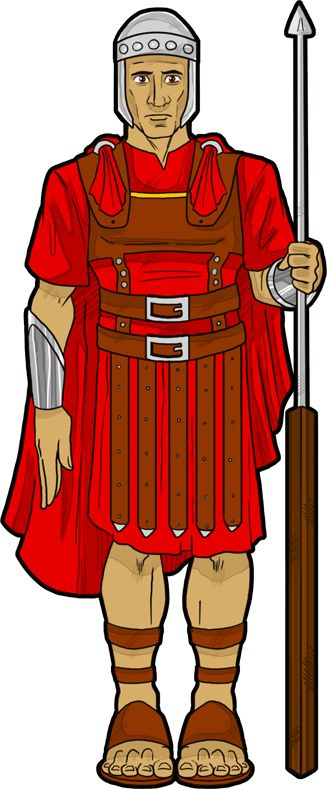 Roman soldier at the time of Yeshua (Jesus.)