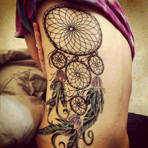Amazing Dream Catcher Tattoos