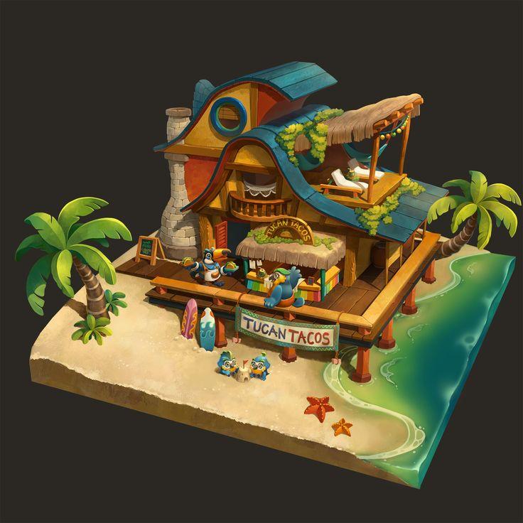ArtStation - Tucan Tacos, hyejung lee