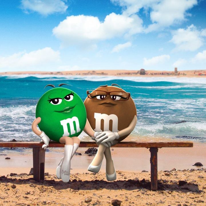 M & M's Summer at the beach