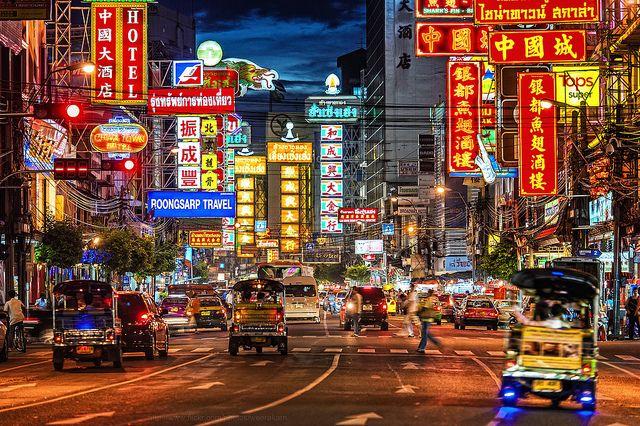 タイ最大の中華街「ヤワラート」。タイのおすすめ観光名所
