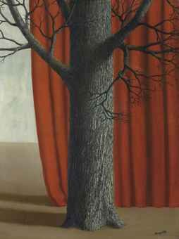 René Magritte (1898-1967), La parade, oil on canvas,   Painted in 1940