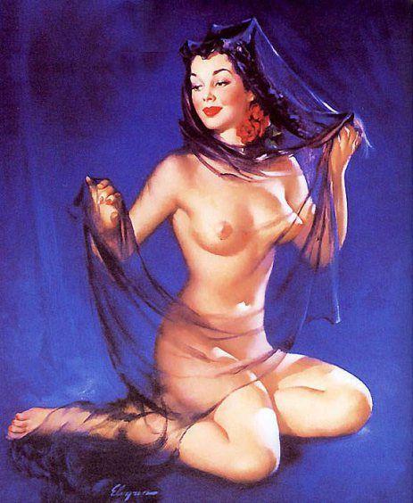 Vintage Pin-Up Girls of Gil Elvgren: Gallery 3 | Sad Man's Tongue Rockabilly Bar & Bistro – Prague