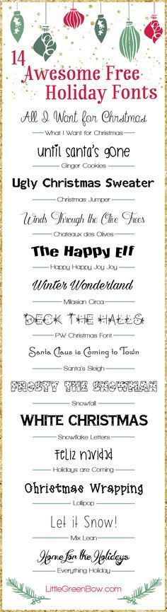 Best 25+ Christmas fonts ideas on Pinterest | Holiday fonts ...