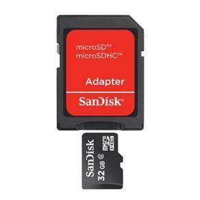 Ponto Frio Cartão de Memória Sandisk Micro SD Classe 4 + Adaptador - 32GB - R$ 47,23