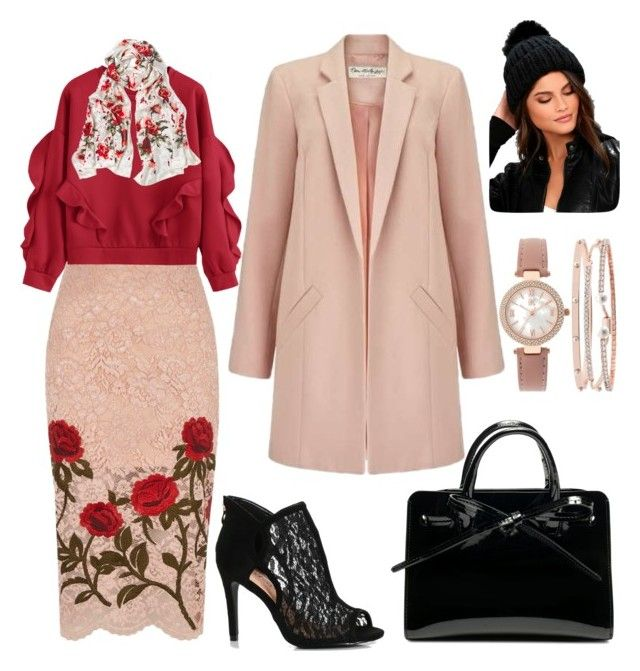 """""""work inspo"""" by rebeccaodil on Polyvore featuring River Island, Miss Selfridge, White House Black Market, Free People and INC International Concepts"""