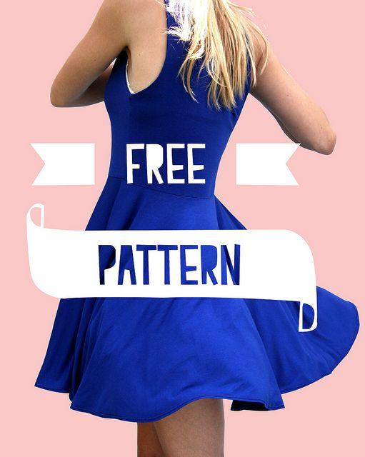 Me & Sew: BLUE DRESS - FREE PATTERN (text in Dutch)