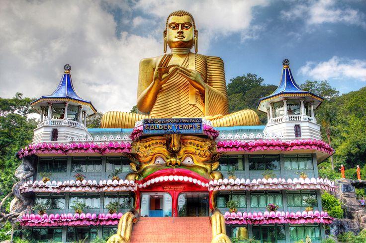 dambulla de gouden tempel