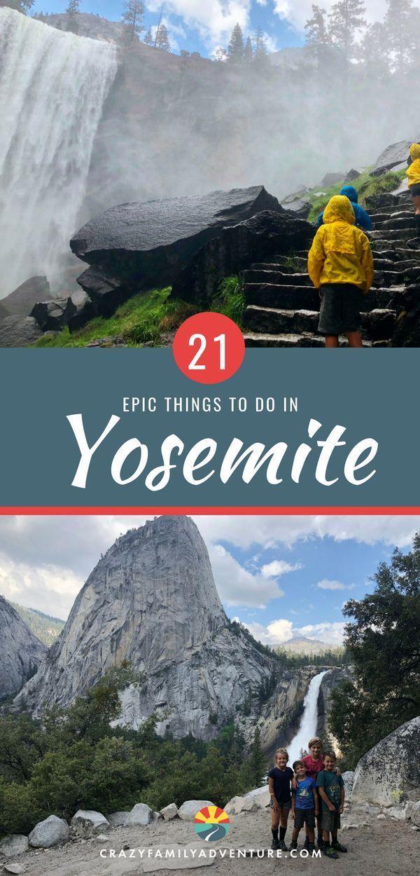 21 choses épiques à faire dans le parc national de Yosemite avec des enfants  – National Parks Travel Tips and Itineraries