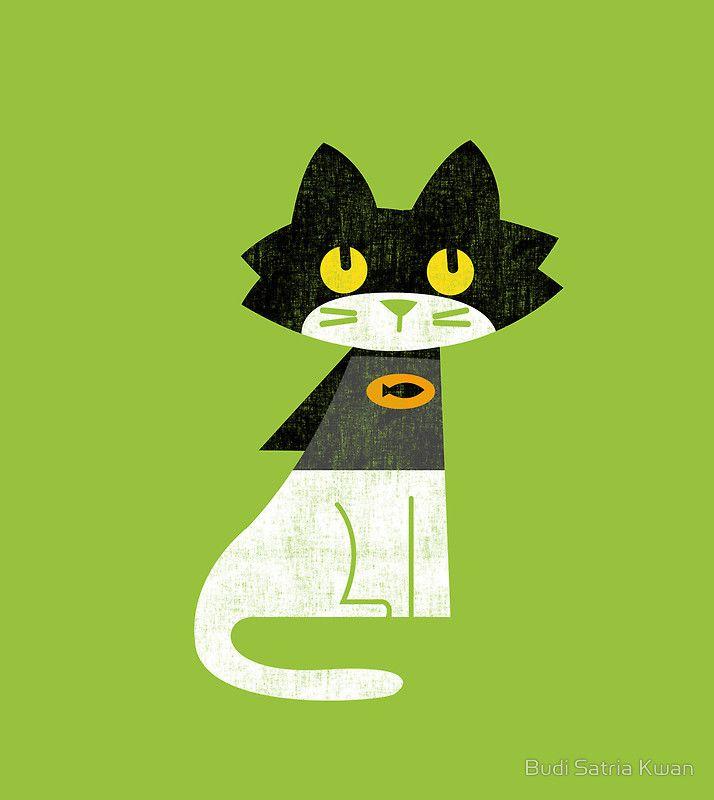 Mark the bat-cat by Budi Satria Kwan