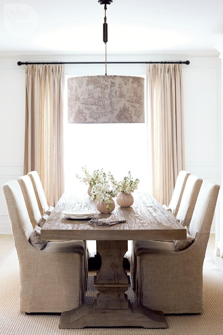 Margie DoyleWhite Farmhouse dining room, Modern