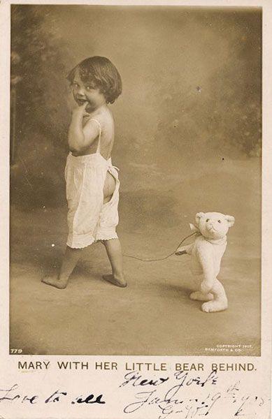 Медвежонки%) — @Старые открытки/фотографии