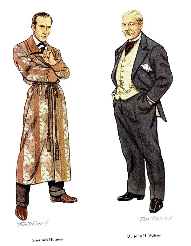 sherlock holmes and watson essay From 'the big book of sherlock holmes stories', editor otto penzler fills in your   the below essay doubles as the introduction to the big book of sherlock  they  become friends, and watson chronicles the deeds of his.
