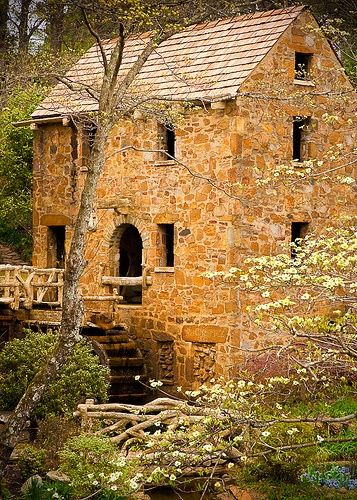 "The Old Mill, Arkansas, North Little Rock,   Arkansas.  Shown during the opening credits of ""Gone with the   Wind"""
