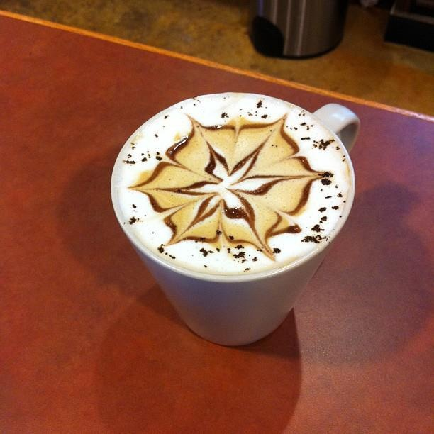 Too pretty to drink? (I'd drink it anyway!) From @Sweet City Desserts in Vienna, VA. http://sweetcitydesserts.net/