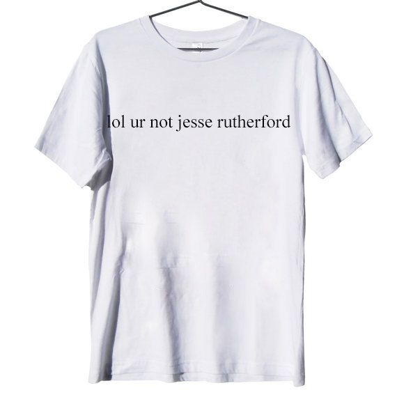 jesse rutherford shirt on Etsy, $16.00