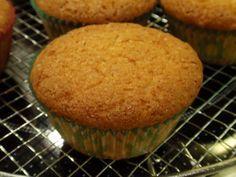 Cupcakes en muffins met rijstemeel (ketan substituut tapiocameel)