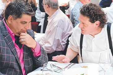 What Ive learnt from Marco Pierre White. By Matt Preston We can all learn as long as we are listening www.delivinotamborine.com