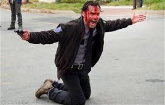 rick in walking dead season 5