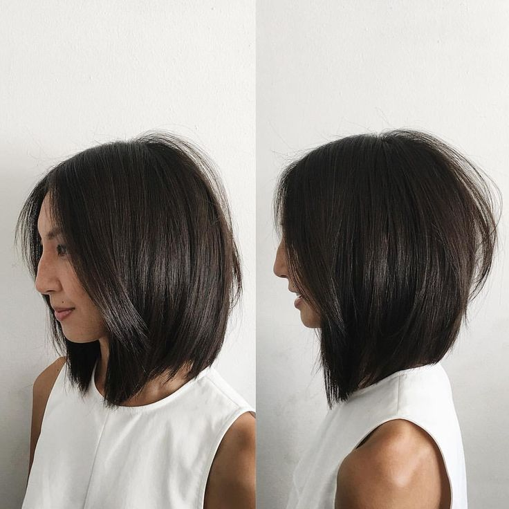 Modern Bob soft undercut by @domdomhair Instagram @domdomhair
