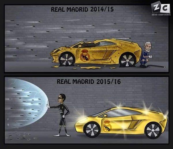 Różnica między Realem Madryt 2014/15 a Realem Madryt 2015/16 • Keylor Navas zmienił oblicze Królewskich • Wejdź i zobacz więcej >> #real #realmadrid #football #soccer #sports #pilkanozna