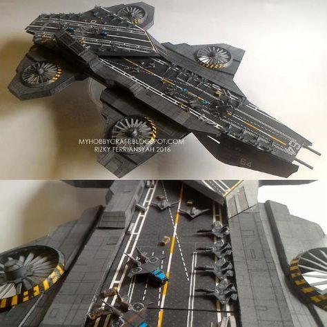 A papercraft blog featuring sci-fi, geek, and pop culture themed paper models.