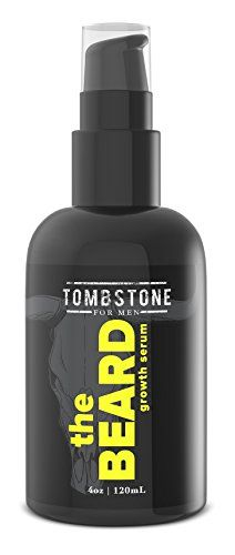 Tombstone The Beard Growth Enhancing Serum - Grow Richer, Fuller, Longer Looking and Softer Facial Hair - Best for Beard Care Products Keratinocyte Growth Factor (KGF) protein strengthens the hair for thicker, fuller looking facial hair. Your beard will be more soft and touchable while the anti aging qualities helps to rejuvenate your skin. Forget the hassle of early stage itchiness, replenish skin's moisture with Sea Kelp Ferment and other soothing ingredients. https://skinc