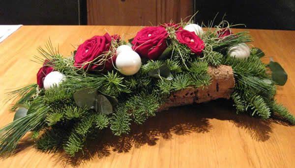 kersttafelstukje: zelf kerststukjes maken