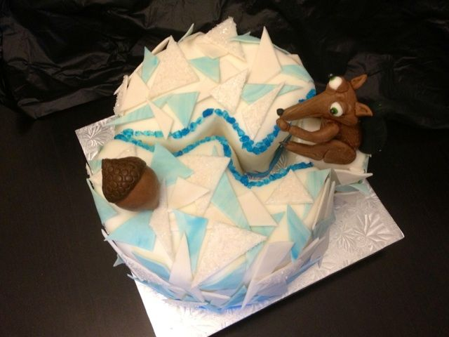Ice age birthday cake, Caked by two, Miami