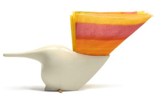 Bibi napkin holder by MikaHeni Design http://www.magma.hu/muveszek.php?id=30