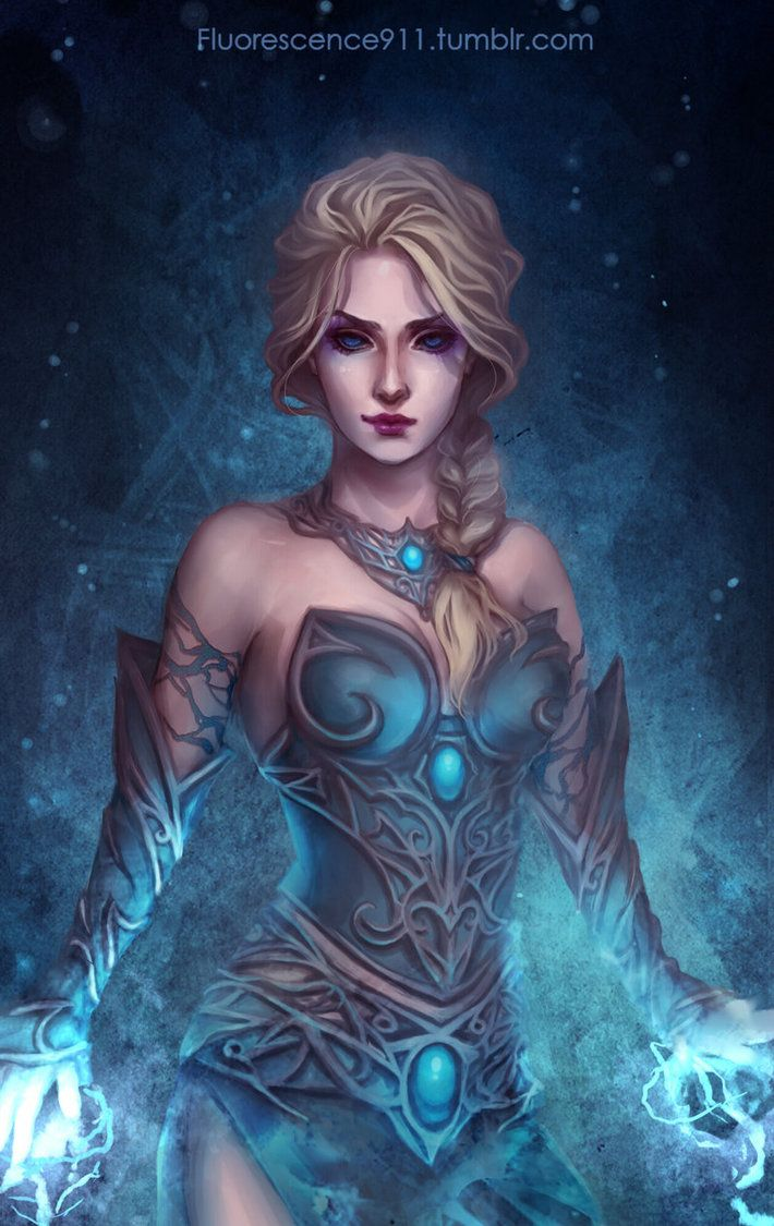 Elsa by Fluorescence911 on DeviantArt