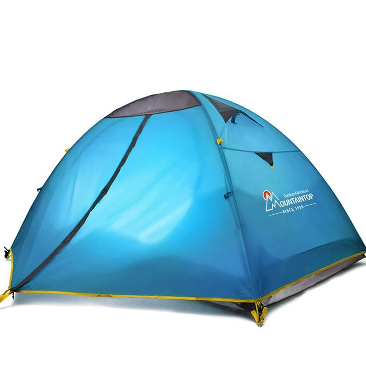Mountaintop Outdoor 2 Person Camping Tent/Backpacking Tents with Carry Bag 3 Season Tents for Camping * Check out the image by visiting the link.