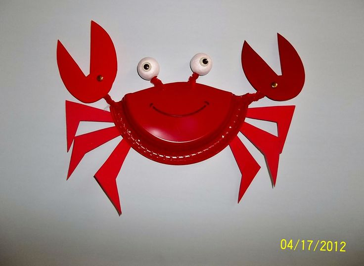 ... plate crab on 25 best ideas about crab crafts on paper best 25 crab crafts ideas on crab craft ... : paper plate crab - pezcame.com