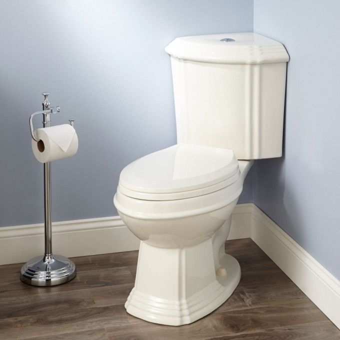 SKU: 905487 Regent Dual-Flush Corner Toilet with Seat