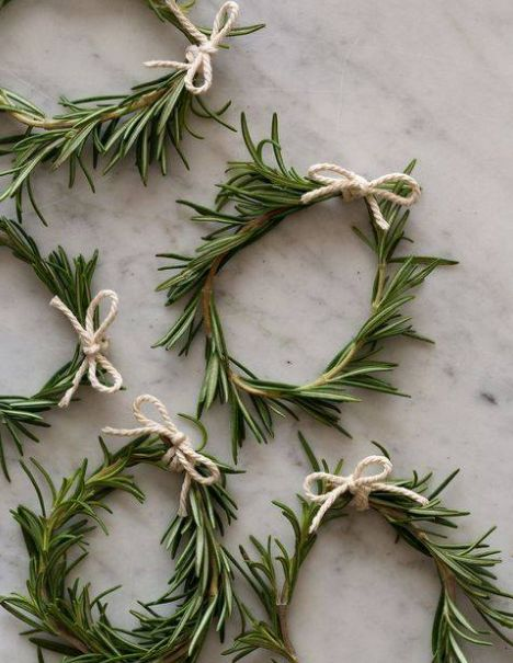 Love These Small Handmade Wreaths.....
