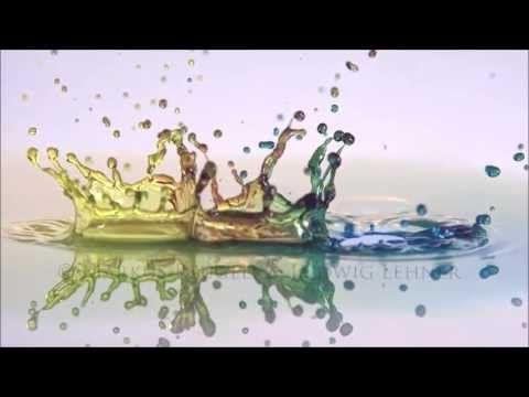 ▶ Highspeed Video of Liquid Art - by Markus Reugels & Ludwig Lehner part 3 - YouTube