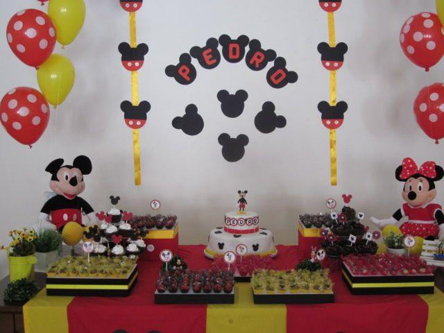 Bem Sacados: Festa Mickey Mouse