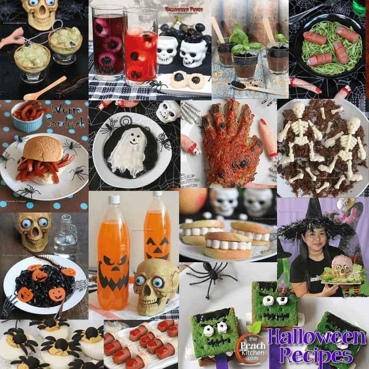 19 best halloween party theme images on pinterest for Peach kitchen ideas