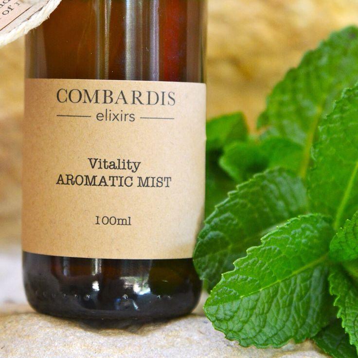 Vitality essential oil mist
