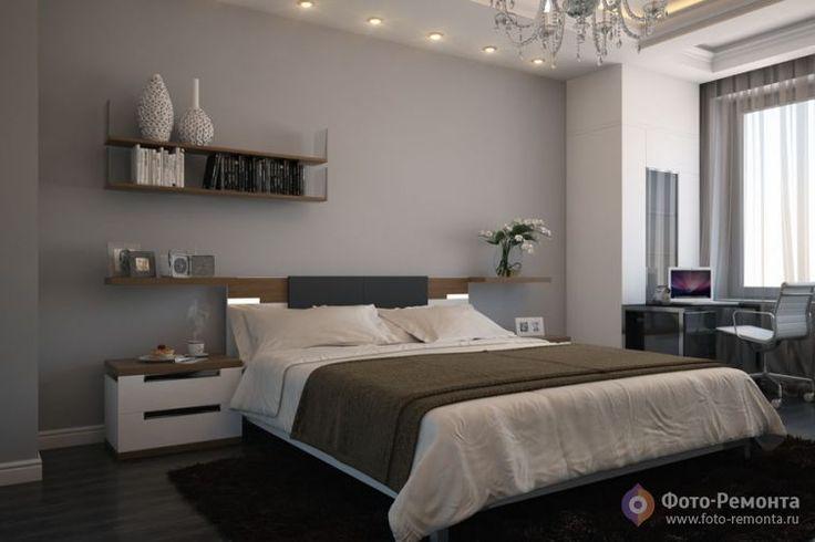 Серые спальни ремонт