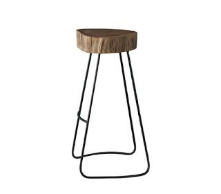 styleitchic.blogspot.com:  wood and metal stool 36Χ34Χ76CM  http://mikk.ro/kS4