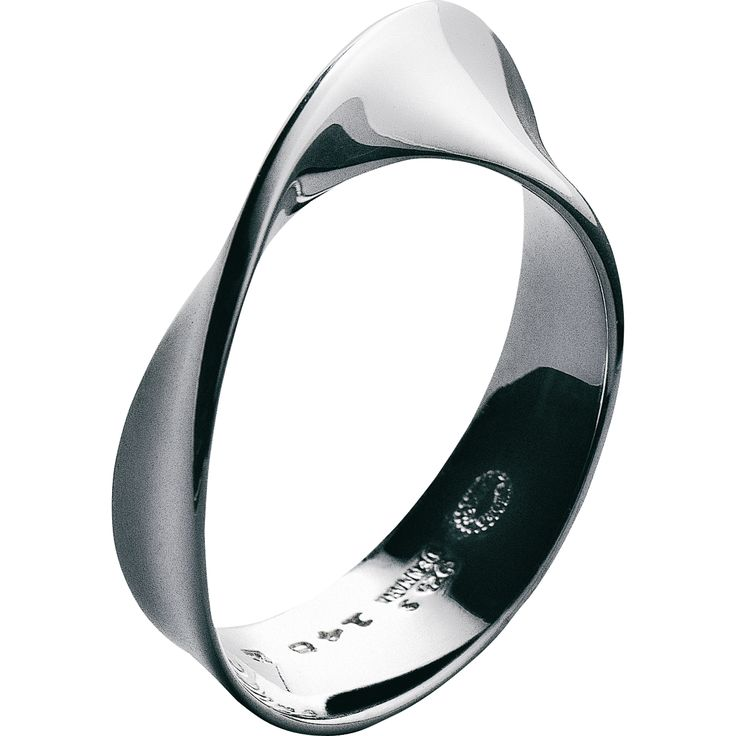 MÖBIUS ring - sterling silverMobius Rings, Style, Jewellery, Wedding Band, Jewelry, Jewels, George Jensen, Sterling Silver Rings, Möbius Rings